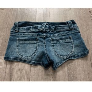 Paris Blues Jean Shorts